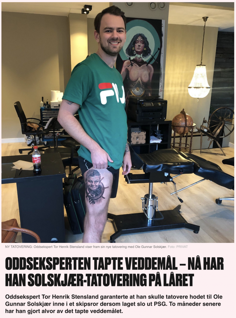Solkskjær tattovering Vg.no